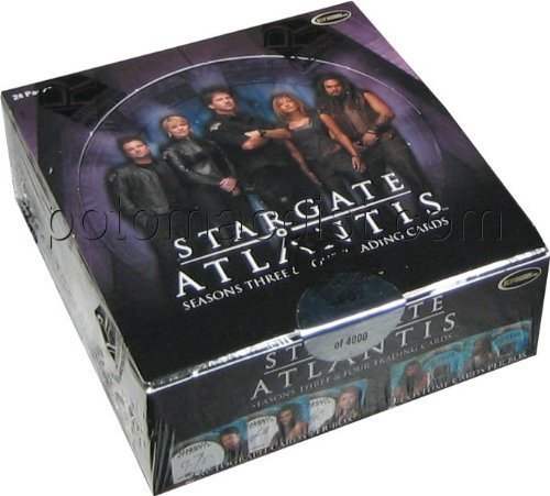 Stargate Atlantis Seasons 3 & 4 Trading Cards Box [並行輸入品]