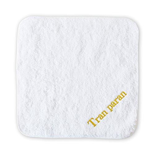 選べるお名前刺繍 今治タオル リゾートホテルスタイル タオルハンカチ 名入れ (ホワイト)