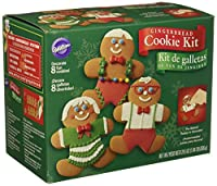 Wilton Gingerbread Boy Cookie Decoratingキット 2104-1973