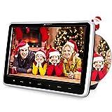 PUMPKIN ヘッドレストモニター dvd スロットイン式 10.1インチ dvdプレーヤー 車載リージョンフリー レジューム機能 AUX CPRM対応 USB/SD/AV-IN/AV-OUT 18ヶ月保障
