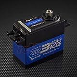 Power HD防水4.8–6.6Vスーパートルクデジタルサーボ0.12/ 23kg-cm for Crawler /バギー/オンロード# wp-23kg