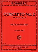 ROMBERG - Concierto nコ 2 Op.3 en Re menor para Violoncello y Piano (Rose)