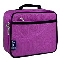 Lunch Box, Wildkin Lunch Box, Insulated, Moisture Resistant, and Easy to Clean with Helpful Extras for Quick and Simple Organization, Ages 3, Perfect for Kids or On-The-Go Parents ? Orchid