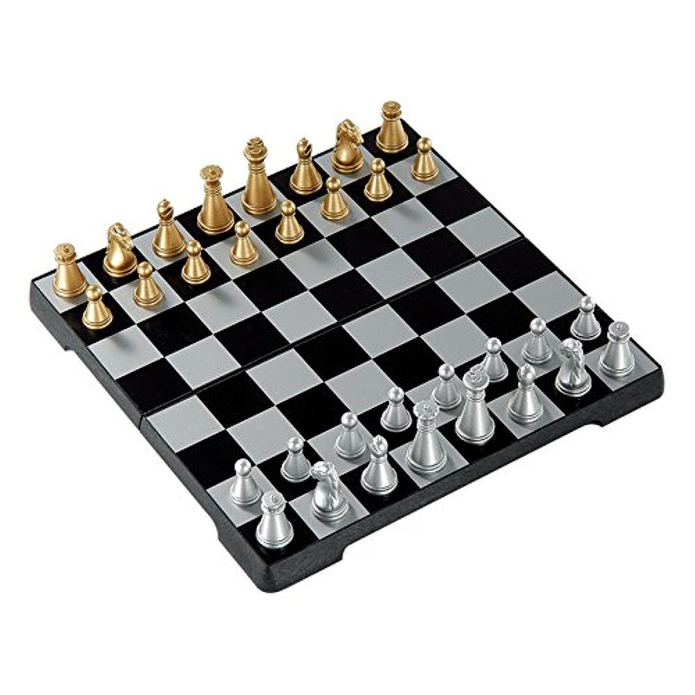 RUNACC 国際チェス チェッカー付き チェス 知的ゲーム 教育チェスセット 学校/旅行/室内に適用