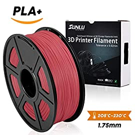White PLA+ 3D Printer Filament 1.75mm 1KG Spool Filament for 3D Printing,3D Pens, Dimensional Accuracy +/- 0.02 mm SUNLU 3D Printer filament and 3D Pen is a place where your imagination is brought to life.  Designed with superior quality and...