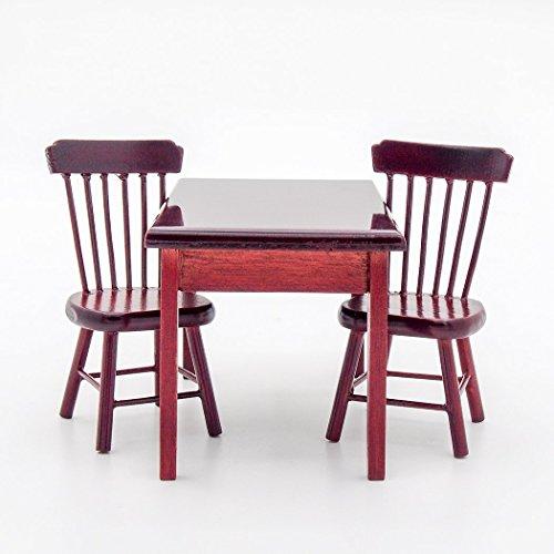 【Odoria ミニチュア家具】3点セット 1/12 木製 ...
