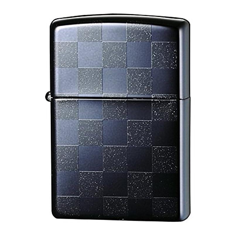 ライフル記念碑的なを通してzippo ジッポーライター チェック 市松模様 チェッカーデザイン ブラック 25CKBK