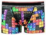 DARK SHINY(ダークシャイニー) Men's Boxer Pants/Tetris/L MOFU03L L