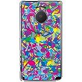 CaseMarket 【ポリカ型】 docomo LUMIX Phone P-02D ポリカーボネート素材 ハードケース [ サウンド カラフル ]