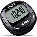 Realalt 3DTriFit 3D Pedometer Activity Tracker | Best Pedometer for Walking with Pause Function & 7-Day Memory for Men & Women. Fitness Tracker Accurately Monitors Steps, Calories Burned & Distance.