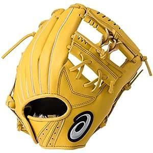 アシックス(asics) 軟式 野球 少年用 グローブ オールポジション STAR SHINE スターシャイン サイズ大 2019年モデル BGJ8YL ブラウンゴールド 210 RH(左投げ用)