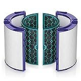ダイソン Dyson Pure シリーズ 空気清浄機能付ファン交換用フィルター (脱臭フィルターとHEPA集じんフィルター) DP04/TP04/TP05/HP04/HP05 用