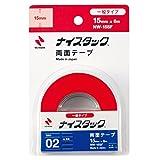 ニチバン 両面テープ ナイスタック 一般タイプ 15mm×6m NW-15SF
