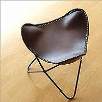 スツール レザー おしゃれ 本革 椅子 レザーバタフライスツール [ras3616]