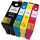 EPSON(エプソン) IC65+61BK 4色セット 純正互換インクカートリッジ ICチップ付・残量表示機能 365日保証 HIBIコレオリジナル