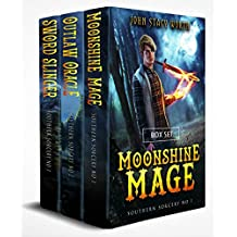 Southern Sorcery Trilogy: boxed set of books 1 - 3; Moonshine Mage, Outlaw Oracle, & Sword Slinger
