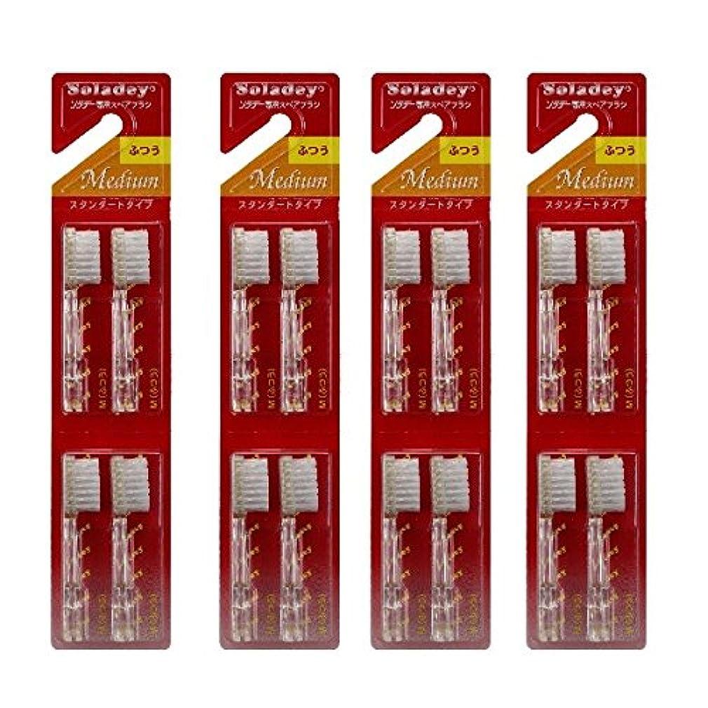 セーターサロンキャベツソラデー3 スペアブラシ ふつう 4セット (計16本)