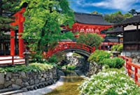 1000ピース 花咲く下鴨神社  (49cmx72cm)