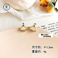 Row&ling2019 夏の韓国イヤリングガールかわいいオレンジココナッツの木の花フルーツスタードロップイヤリング女性のファッションジュエリーアクセサリー イヤリング レディース