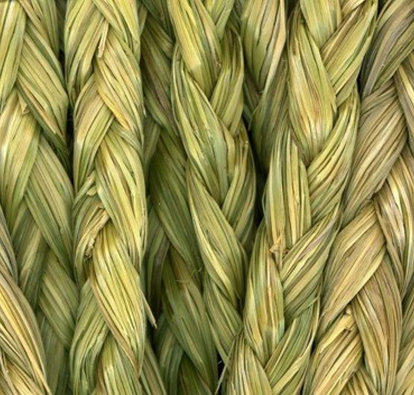 健康的郵便局問題Smudging: Sweetgrass Braid