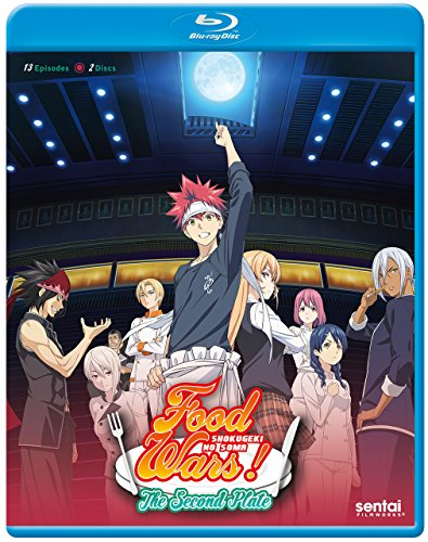 Food Wars: Second Plate/ [Blu-ray] [Import]