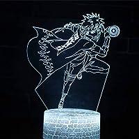 Usb 3d ledナイトライト装飾ライト男の子子供キッズギフトテーブルランプ