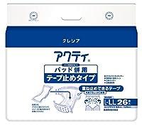 日本製紙 アクティ パッド併用テープ止めタイプ L-LL26枚 x1個 Japan