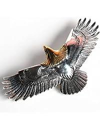 「silverKYASYA」シルバー925素材 特大 頭金イーグルトップ 鷹 鷲 Eagle 925 イーグルネックレス トップ JSB 三代目 ネイティブアクセ王道!