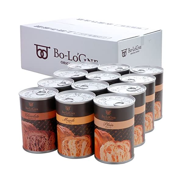 缶deボローニャパンの缶詰の商品画像