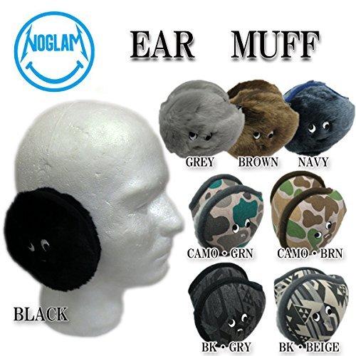 14-15 NOGLAM ノーグラム イヤーマフ EAR MUFF スノーボード 耳あて (CAMO_GRN)