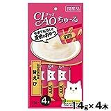チャオ ちゅ〜る とりささみ&甘えび 14gx4本