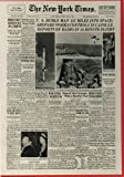 Parker Brothers Presents - The New York Times Historic 500 Piece Puzzle - First American in Space - New York Times Front Page May 6, 1961 Also Includes Image of Queen Elizabeth Visiting Pope John XXXIII and Articles on Nixon, Johnson, Aid for Brazil by Parker Brothers [並行輸入品]