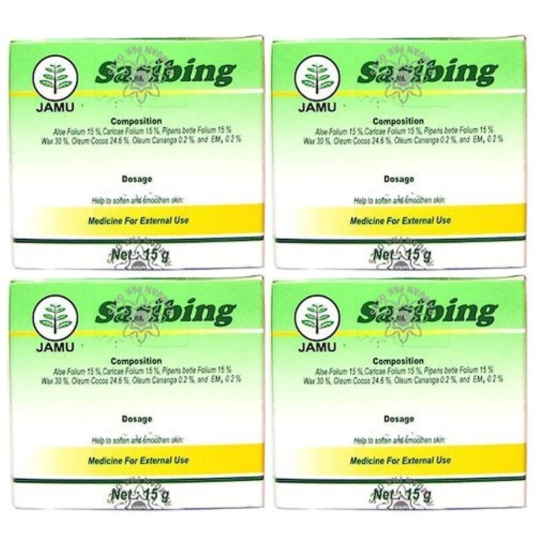スカイサイクロプス差し控えるSaribing(サリビン)ビューティー クリーム 15g 4個セット [並行輸入品][海外直送品]