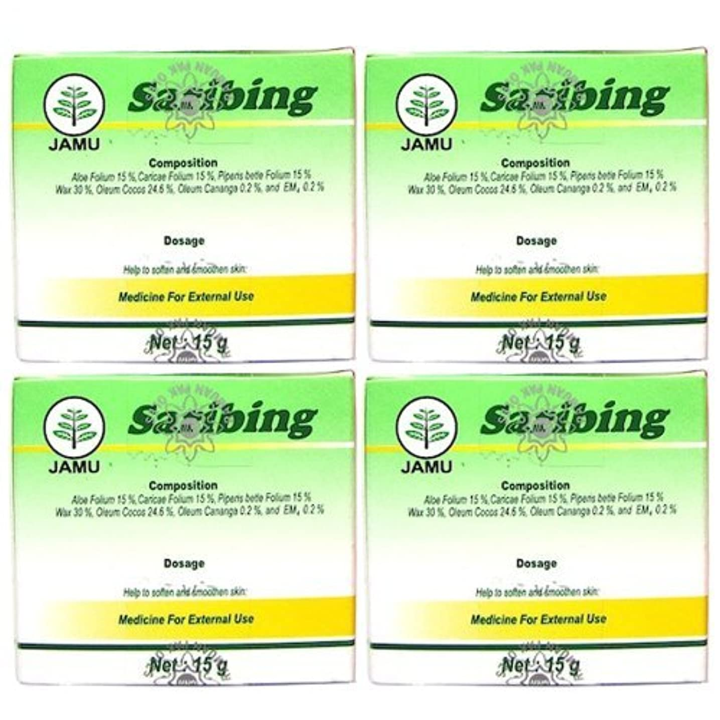 皮肉な健康的小切手Saribing(サリビン)ビューティー クリーム 15g 4個セット [並行輸入品][海外直送品]