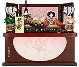 雛人形 久月 ひな人形 収納飾り 親王飾り 束ね熨斗紋 h293-kcp-s29247