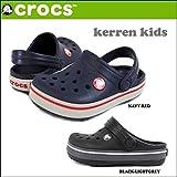 (クロックス)CROCS crs-018サンダル CROCKBAND KERREN KIDS ケレン キッズ クロックバンド 13cm NAVY-RED