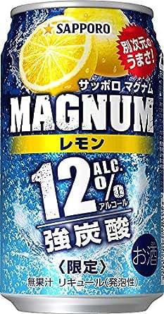 サッポロ MAGNUM(マグナム) レモン [ チューハイ 350ml×24本 ]