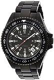 Brookiana腕時計日本製自動移動nh35搭載( temaki-zuke )カプセル光日付表示ブラック~ブラックbaa1801-bkbkメンズ
