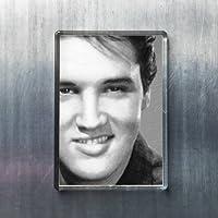 ELVIS PRESLEY - オリジナルアート冷蔵庫マグネット #js001