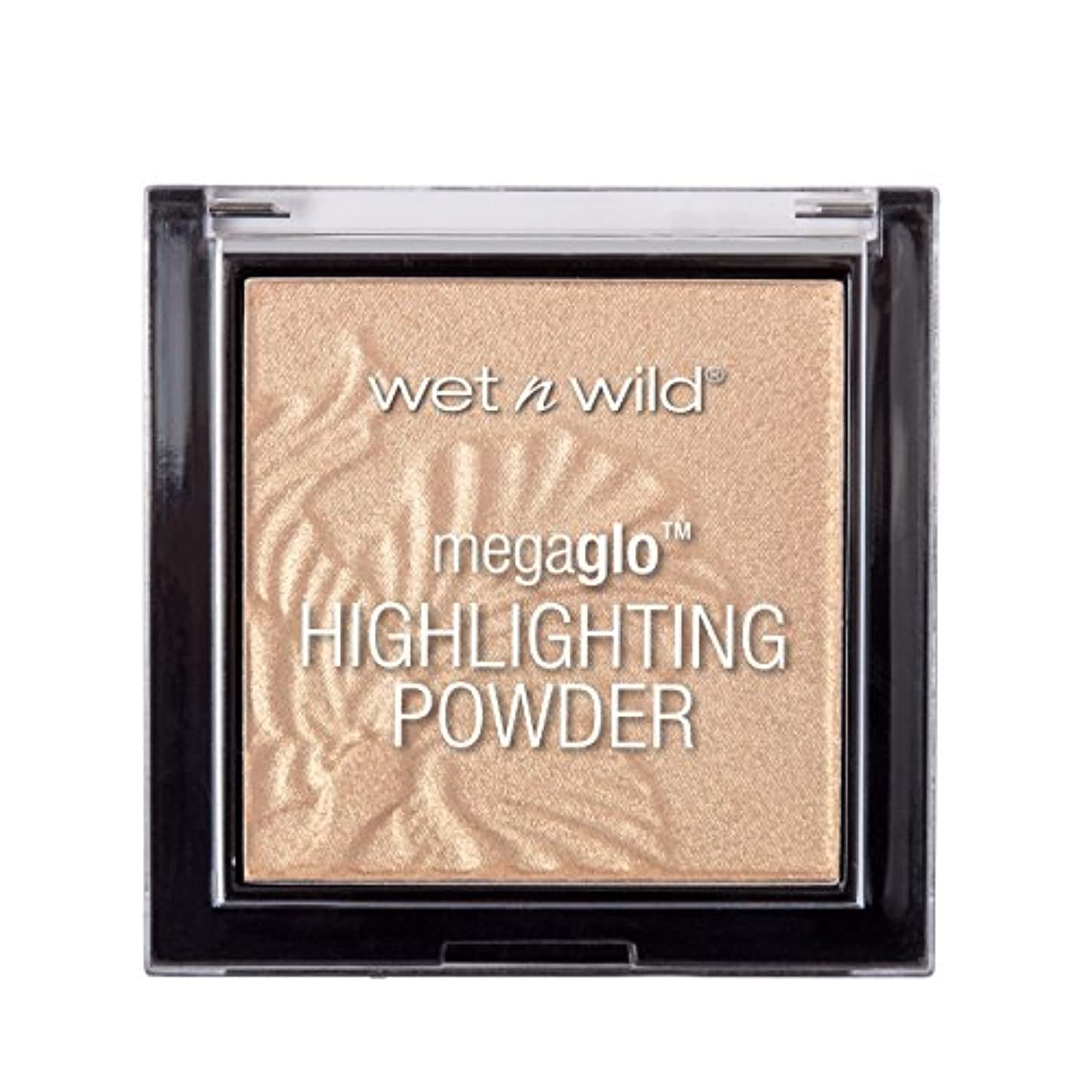 願う聡明歴史家WET N WILD MegaGlo Highlighting Powder - Golden Flower Crown (並行輸入品)