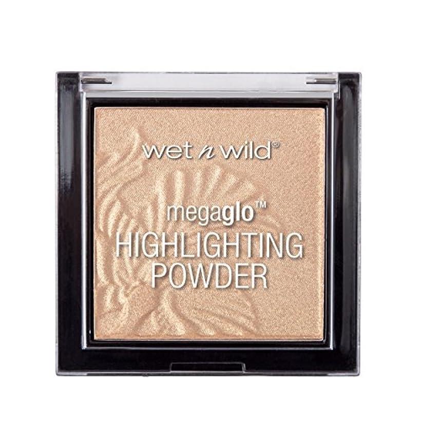 かすれた夫ペンWET N WILD MegaGlo Highlighting Powder - Golden Flower Crown (並行輸入品)