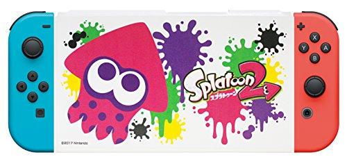 Nintendo Switch専用スタンド付きカバー スプラトゥーン2イカ
