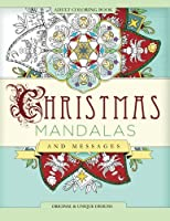 Christmas Mandalas and Messages Adult Coloring Book (Mix Books Adult Coloring)