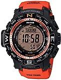[カシオ]CASIO 腕時計 PROTREK プロトレック マルチフィールドライン 方位計 PRW-3500Y-4 ブラック×オレンジ メンズ [並行輸入品]