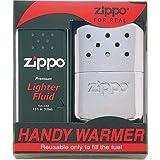 Zippo(ジッポー) ハンディウォーマー ZHW3F オイル 充填式 カイロ オイル大缶1本付き お徳用