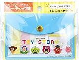 デルフィーノ デザイン小物 ピクセル フェイス H7.8×W11.5cm ディズニー ポーチ入り付箋 DZ-80787