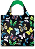 WILD Butterflies Bag: Gewicht 55 g, Groesse 50 x 42 cm, Zip-Etui 11 11.5 handle 27 water resistant, made of polyester, OEKO-TEX certified, can carry up to 20 kg LOQI(ローキー) LOQI GmbH WI.BU