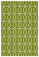 Kaleen Rugs Escape Indoor/Outdoor Rug Green 9' x 12' [並行輸入品]