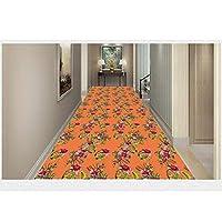 3D幾何学的な廊下ランナーラグショートフラフ6 Mm廊下通路階段カーペット滑り止めの防湿暖かい (色 : B, サイズ さいず : 120x300cm)