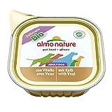 Amazon.co.jpアルモネイチャー (almo nature) DAILY MENU Bio(100%オーガニック) デイリーメニュードッグ オーガニック子牛肉入りのご馳走 100 g